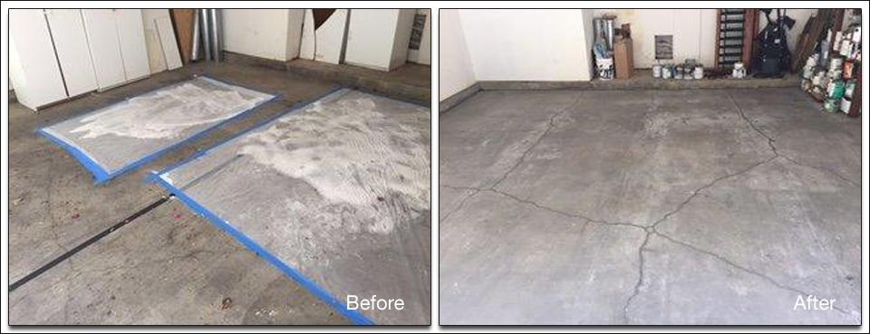 Garage Floor Cleaning