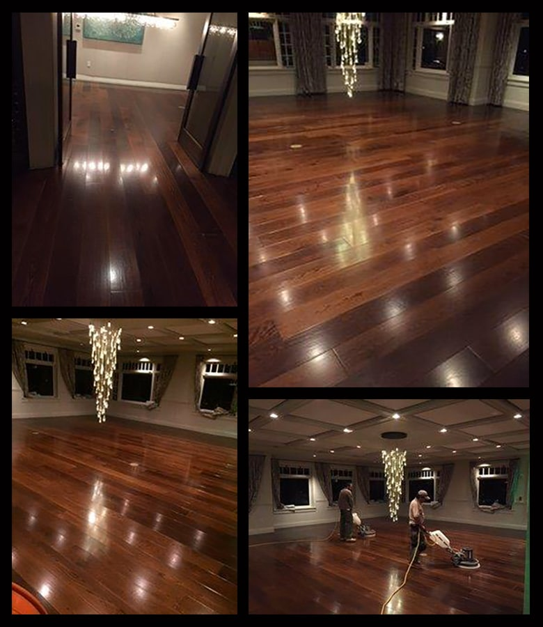 Commercial Wood Floor Cleaning
