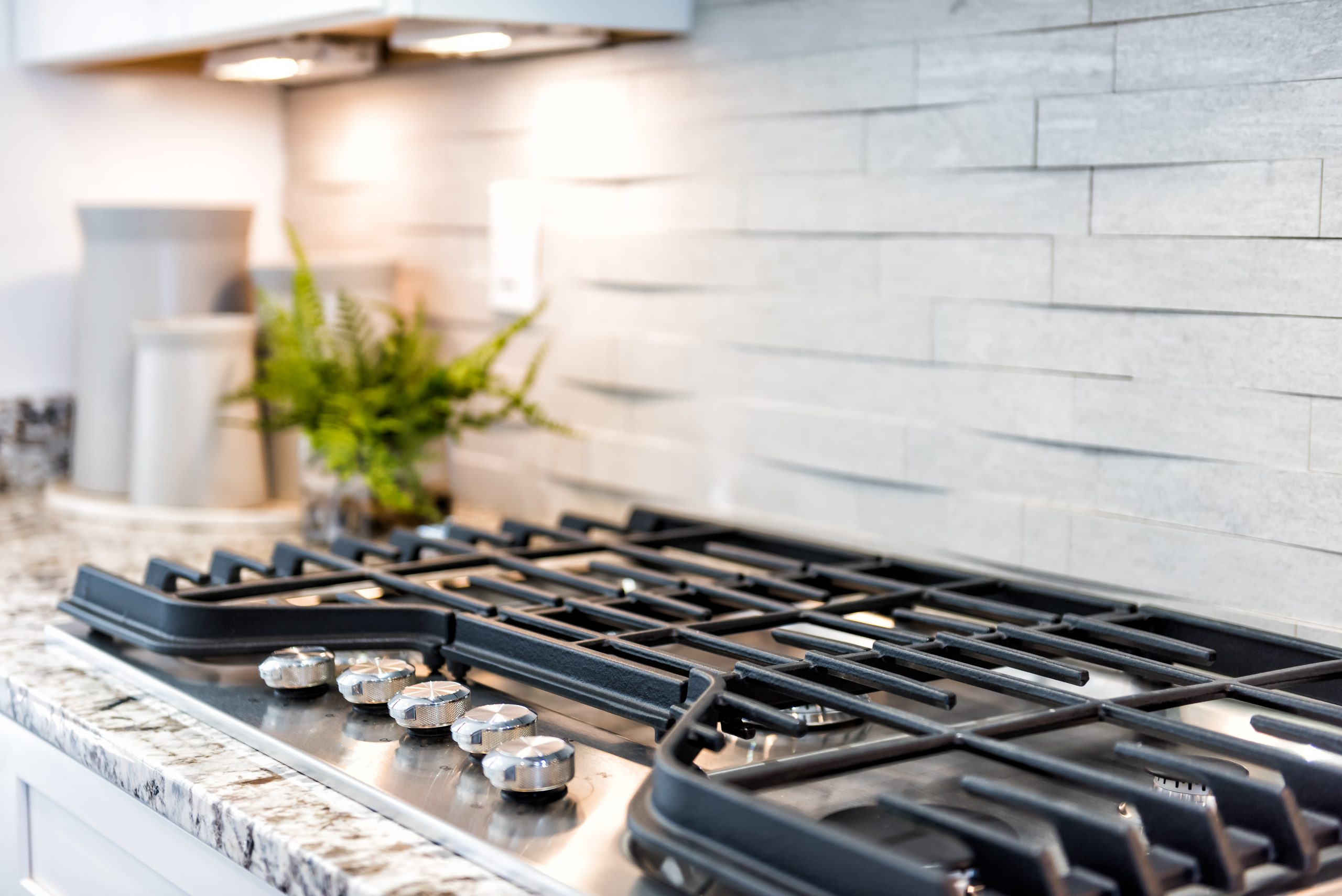 A clean stove top can transform the feel of your kitchen!